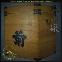 Deluxe Yoroi Bitsu with Yoroi Stand