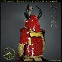Dragon Scale Samurai Armor by Iron Mountain Armory