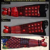 Gashira Samurai Kote Options
