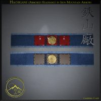 Hachigane (Armored Headband) by Iron Mountain Armory