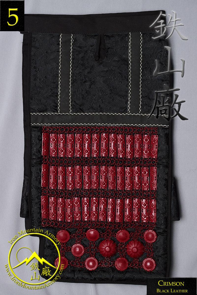 Edo Era Samurai Haidate by Iron Mountain Armory
