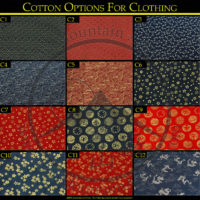 Japanese Cotton Clothing Options
