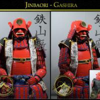 Samurai Jinbaori Gashira