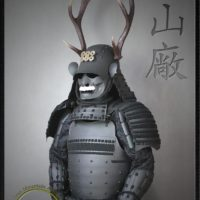 Sanada Clan Kachi Samurai Armor