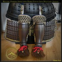 Kegutsu (Samurai Shoes) with Horse Hair by Iron Mountain Armory