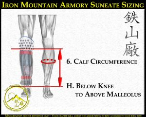Shin Sizing for Suneate and Keyhan