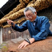 Traditional Mino (Samurai Rain Coat) made from Palm Husk by Iron Mountain Armory