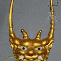 WC-01 Golden Demon Wooden Samurai Crest (maedate) by Iron Mountain Armory