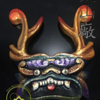 Custom Hand Carved Maedate