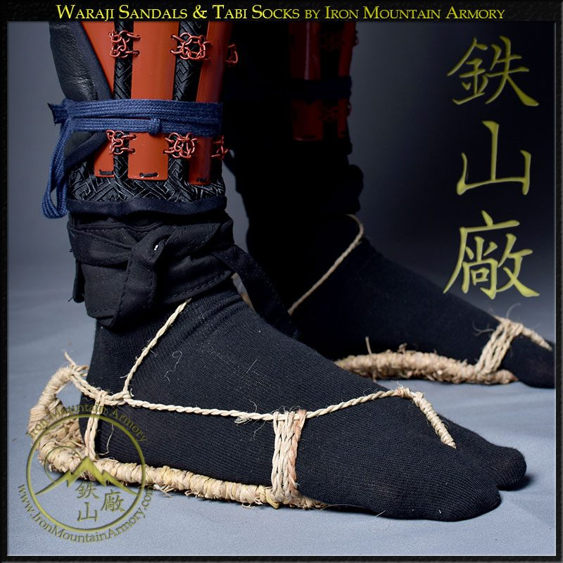 Waraji Sandals & Tabi Socks by Iron Mountain Armory