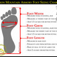 Foot Sizing Chart