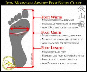 Foot Sizing Chart