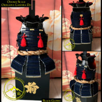 Odoshi Scale Okegawa Gashira Do, Samurai Chest Armor