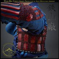 Waki-Biki Samurai Yoroi (Armpit Protector) by Iron Mountain Armory
