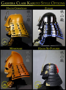 Gashira Kabuto Styles Options