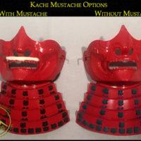 Kachi Menpo Mustache Options