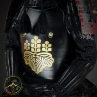 Makie Do Toyotomi Clan Gashira Samurai Armor
