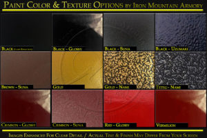 Paint Color & Finish Options