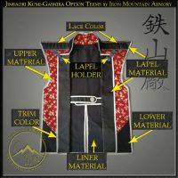 Jinbaori Option Terms by Iron Mountain Armory