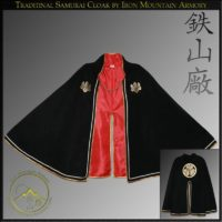 Samurai Manto Cloak