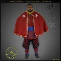 Ii Clan Samurai Manto Cloak by Iron Mountain Armory