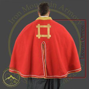 Samurai Cape Cloak Custom Size Cosplay LARP