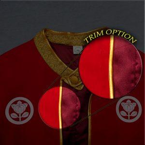 Samurai Manto Cape Trim Options
