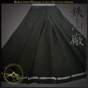 Kukui (tied) Hakama by Iron Mountain Armory