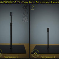 Iki-Ningyo Stand by Iron Mountain Armory