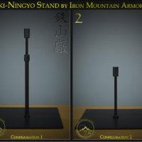 Iki-Ningyo Stand by Iron Mountain Armory