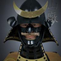Iki ningyo - life like head stand for helmets, by Iron Mountain