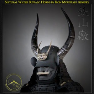 Natural Buffalo Horns Options by Iron Mountain Armory