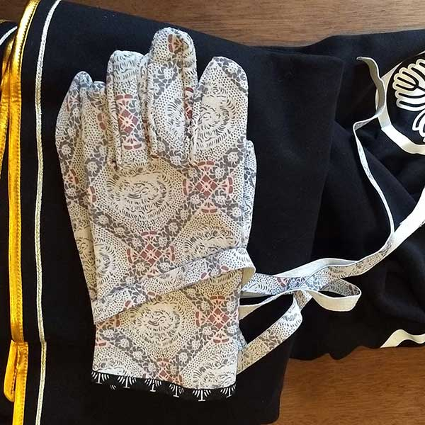 Leather Egawa Samurai Gloves