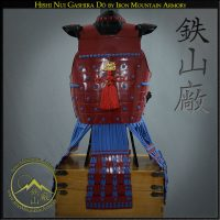Hishi-nui Nimai Yokohagi-Do, Samurai Chest Armor by Iron Mountain Armory