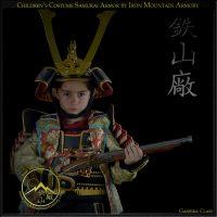 Samurai Armor Costume for Kids