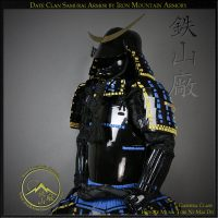 Sengoku Date Clan Okegawa Dō by Iron Mountain Armory