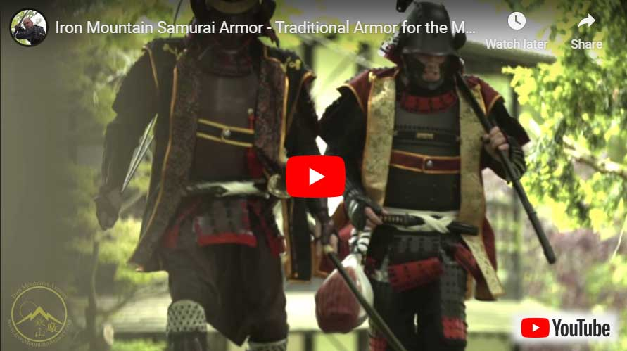Samurai Armor Test Video