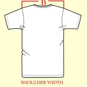 Shoulder Width B