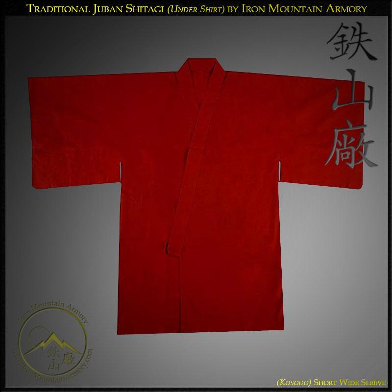 Juban Shitagi (Traditional Japanese Under Shirt)