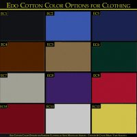 Edo Cotton Clothing Options for Samurai Clothing Iron Mountain Armory