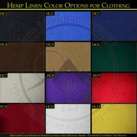Traditional Hemp Linen Options for Samurai Clothing