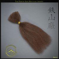 DIY Yak Hair - Brown - For DIY Armor and restoration