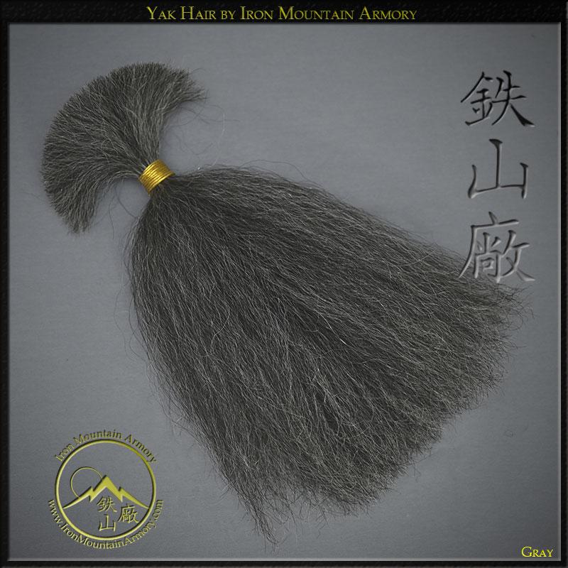 DIY Yak Hair - Grey - For DIY Armor and restoration