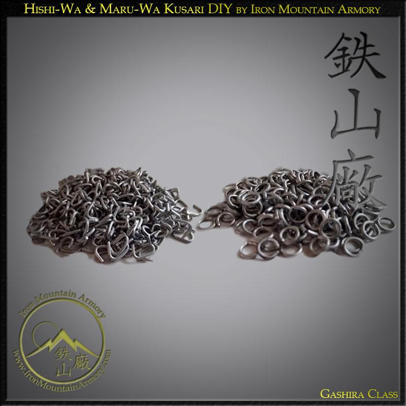 Hishi-Wa & Maru-Wa Kusari traditional Japanese chain mail DIY
