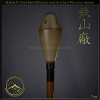 Kaburi-Ya Yak Horn Whistling Arrow by Iron Mountain Armory