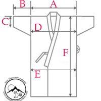 Kimono Sizing Chart