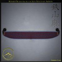 Kusari Obi (Iron-Mail-Belt) by Iron Mountain-Armory