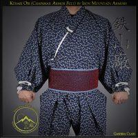 Kusari Obi Chainmail Samurai Armor Belt, auxiliary under armor