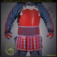Protective Armored Chainmail Belt