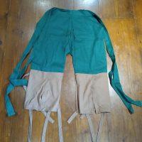 Traditional Tattsuke-Bakama (Samurai Pants)